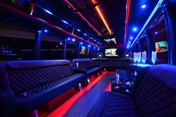 40 Person Party Bus Rental Carrollton
